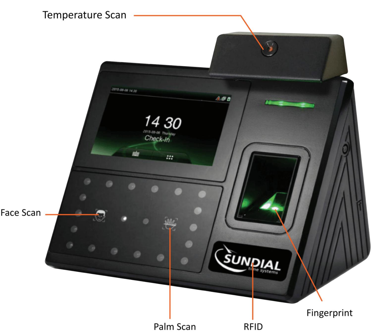 Series 400 Temperature Scan time clock